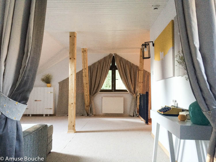 zona relaxare in apartament penthouse Hadar Chalet