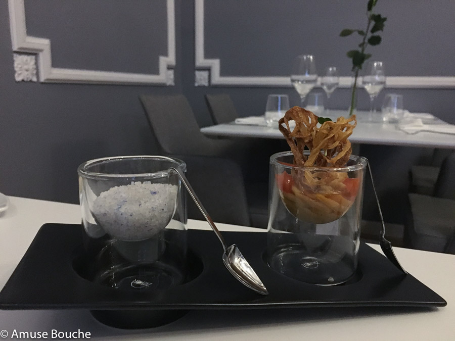 Noul The Artist Bucuresti restaurant amuse bouche