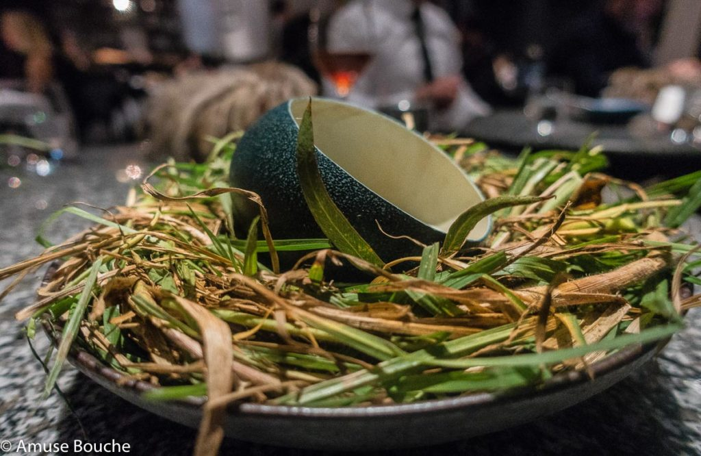 Whipped emu egg Attica Restaurant Melbourne World's 50 Best