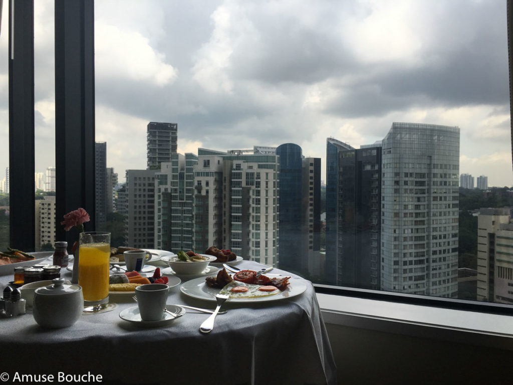 Four Seasons Singapore Room Service