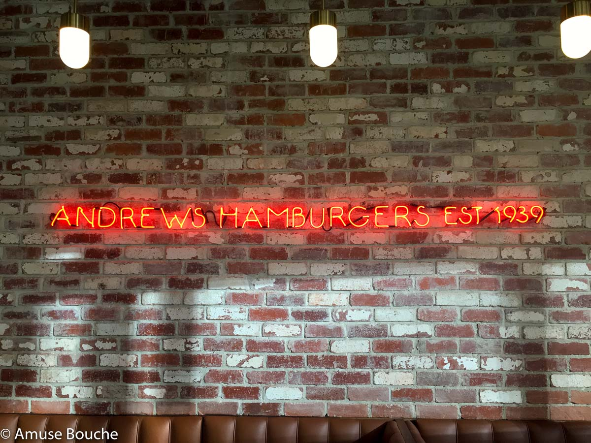 Andrews Hamburgers Melbourne