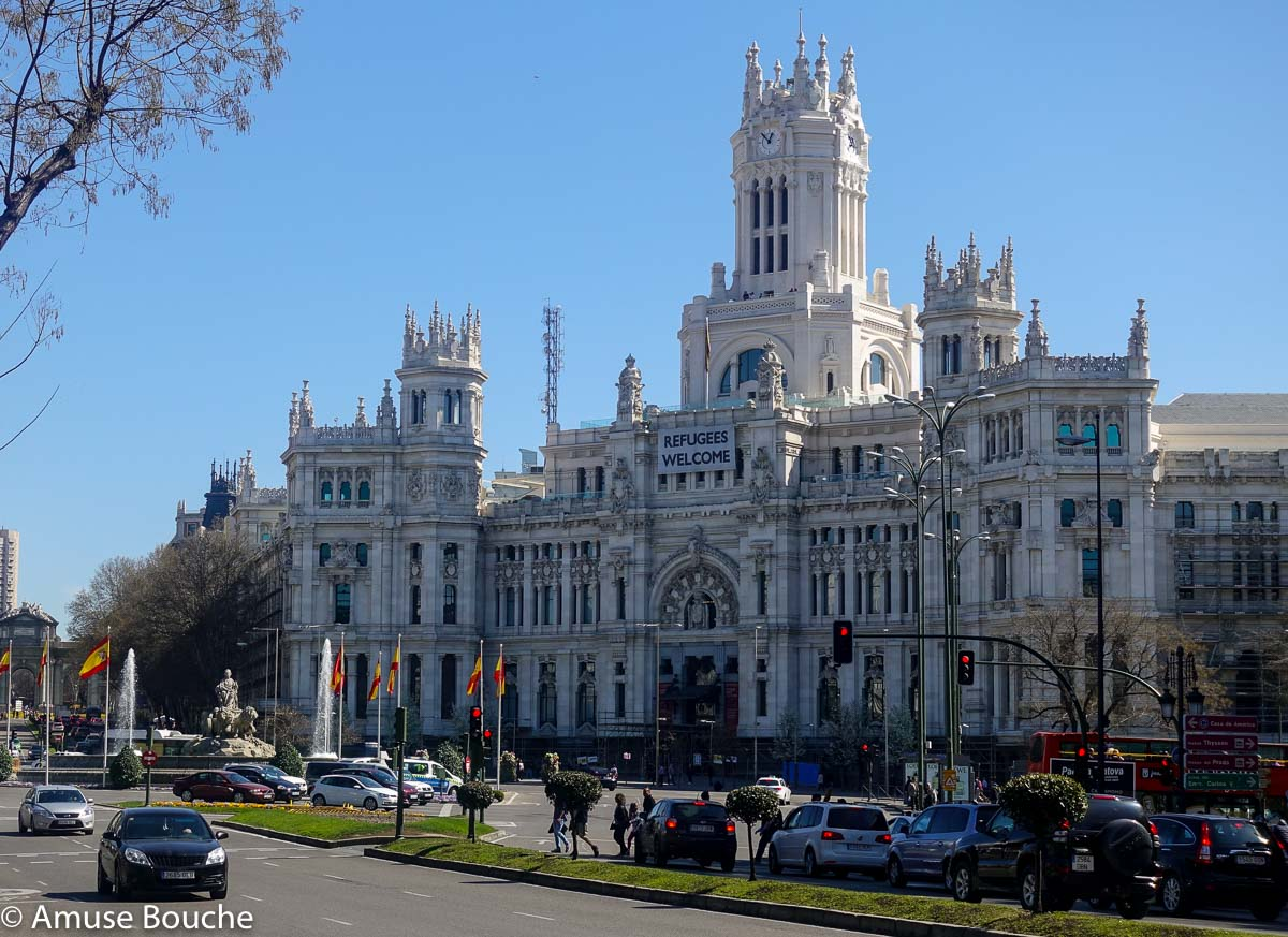 Madrid Plaza de Cibeles Madrid