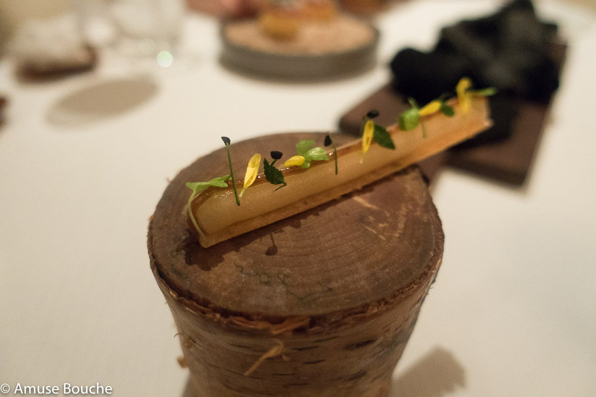 miso celeriac Restaurant Andre Singapore 2 Michelin Stars World's 50 Best