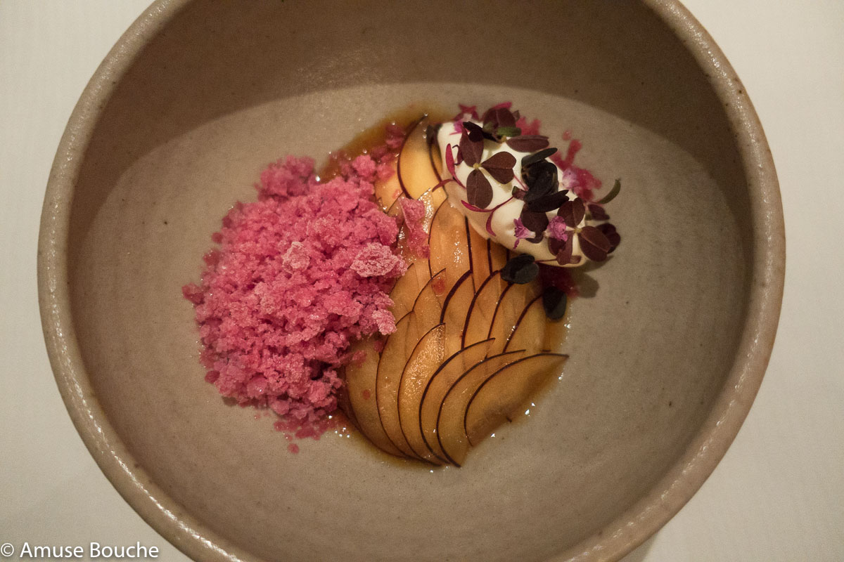Pickled plums Dessert Restaurant Andre Singapore World's 50 Best