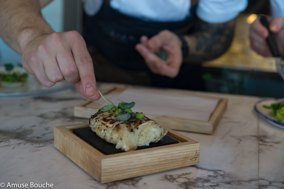 Maize restaurant Bucuresti plating Alex Petricean