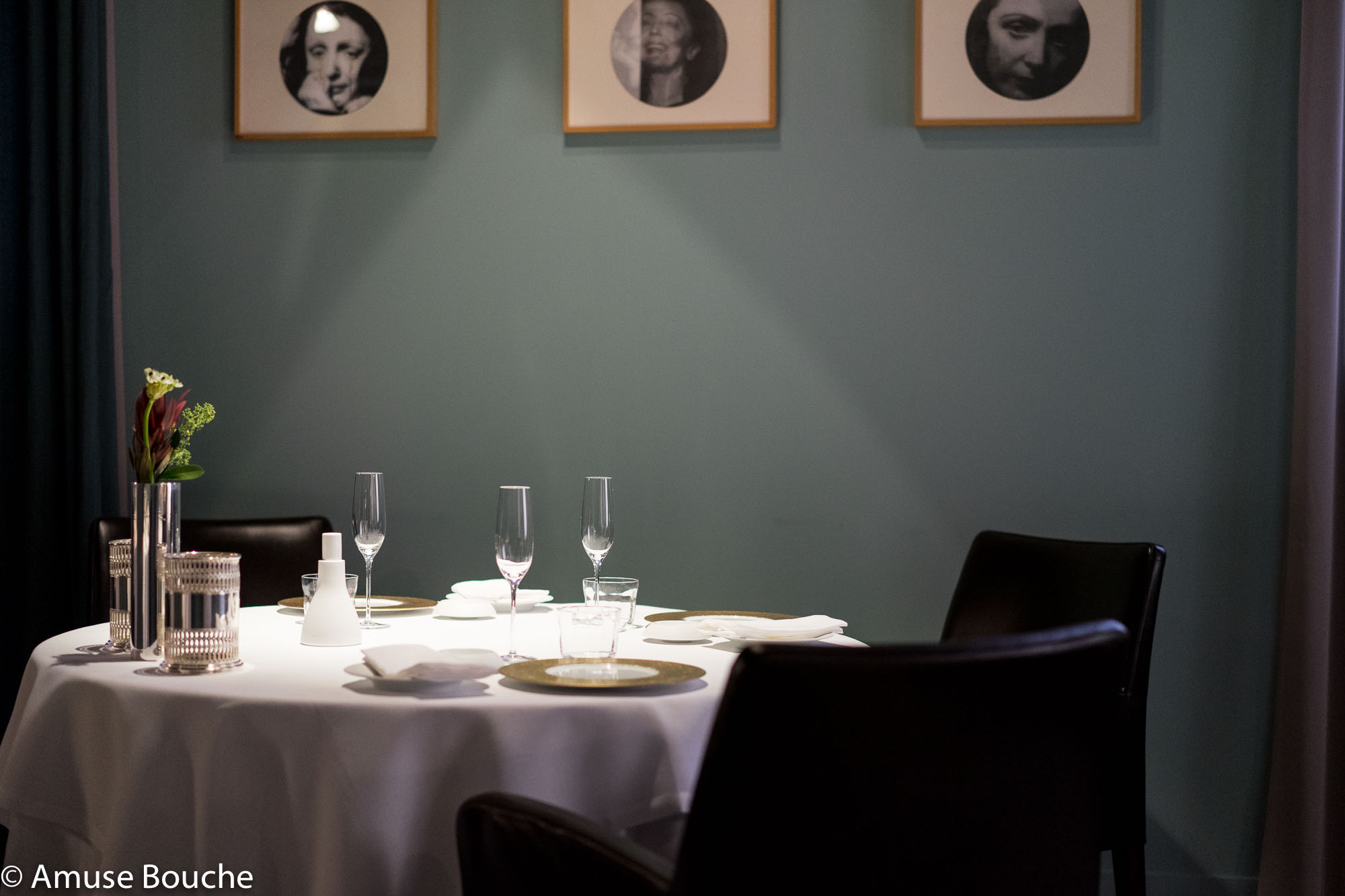 Osteria Francescana Modena table set