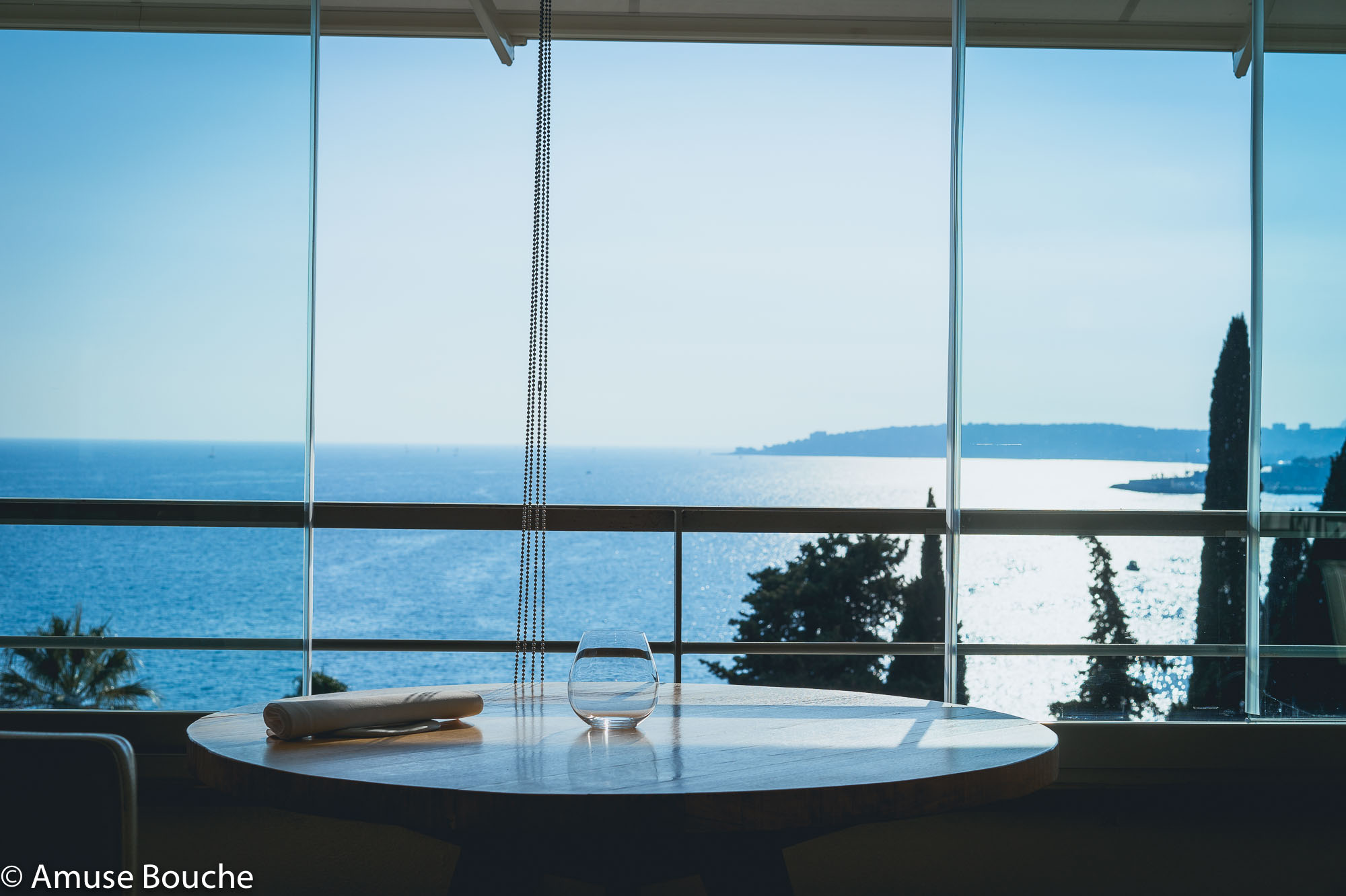Restaurant Mirazur Franta World's 50 Best View