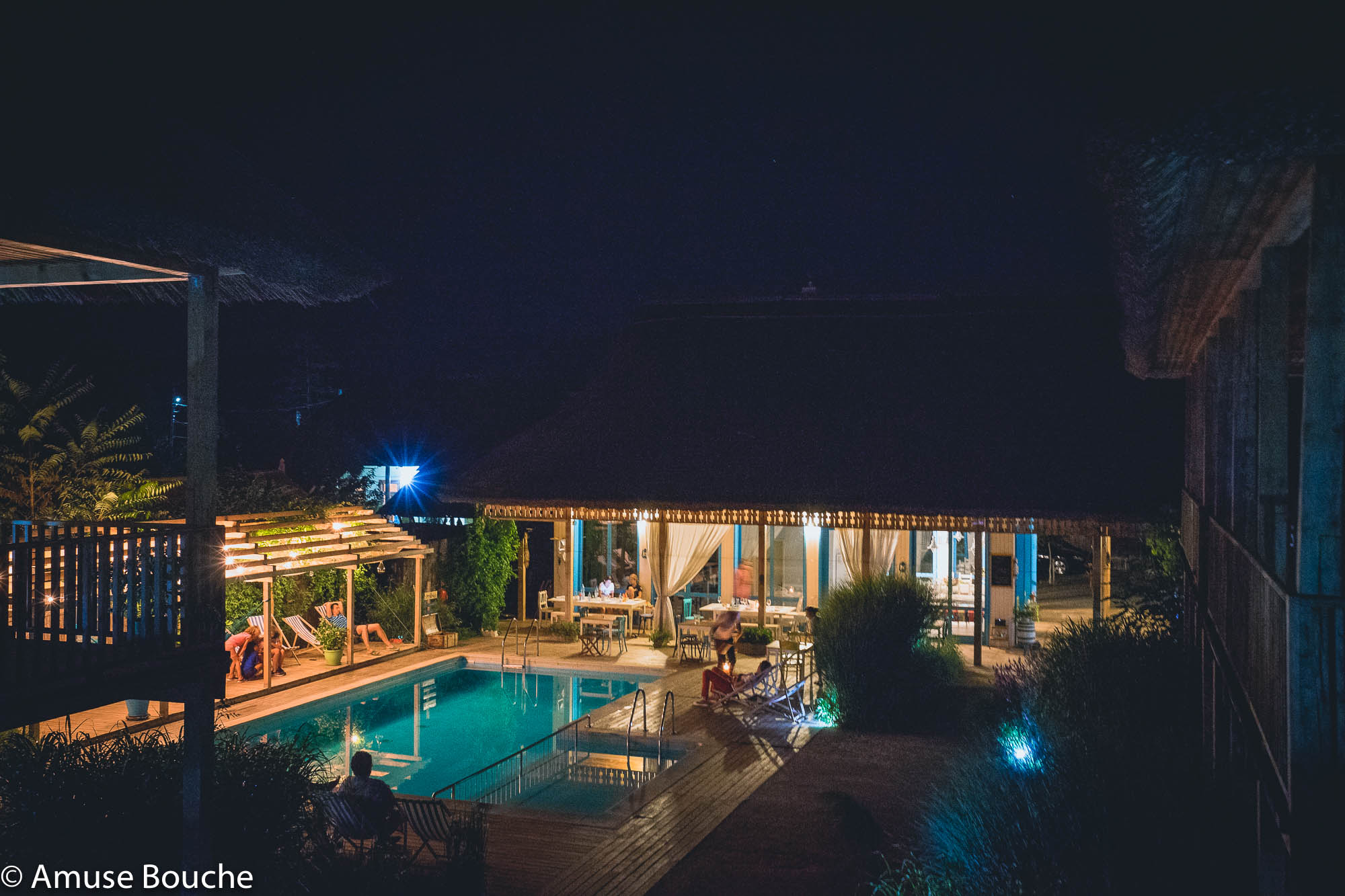 Limanul Resort by night