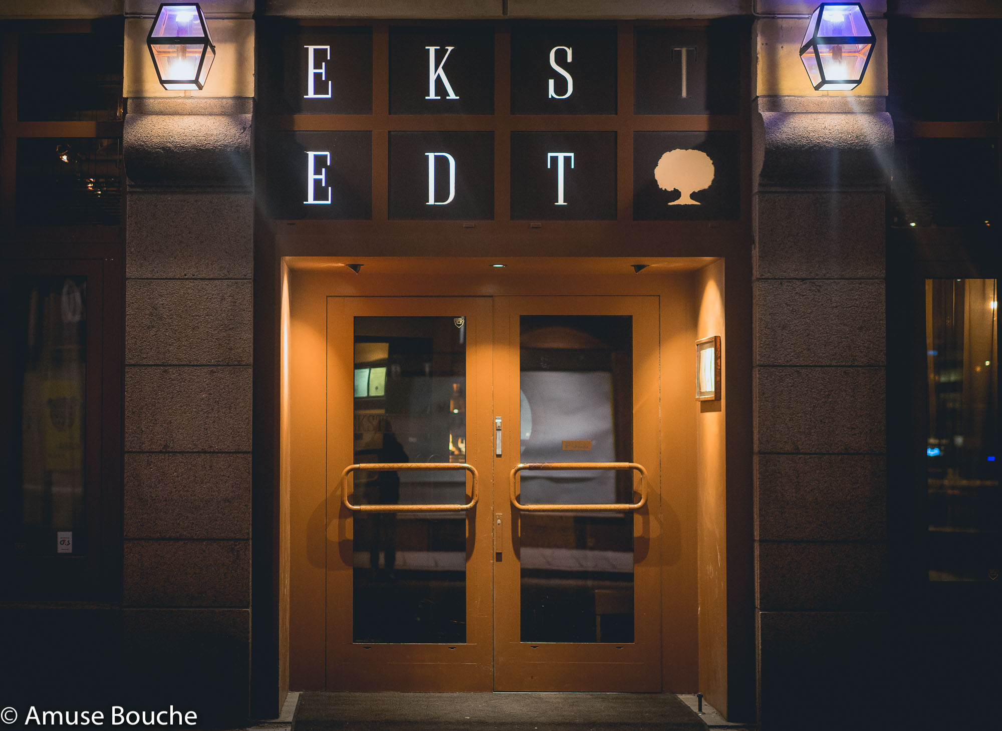Stockholm Ekstedt Restaurant Entrance