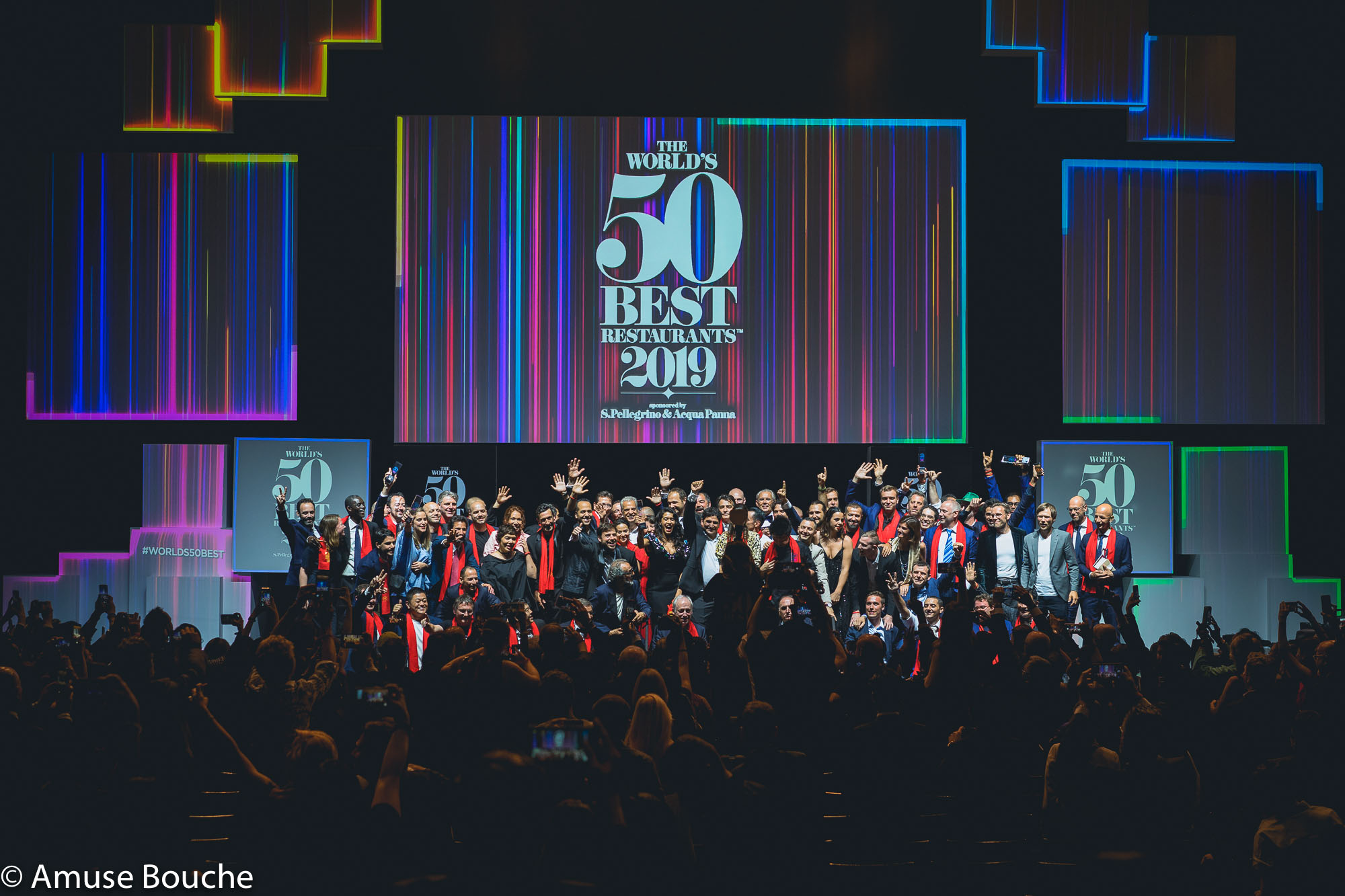 50 Best Restaurants Gala 2019 All Star Photo