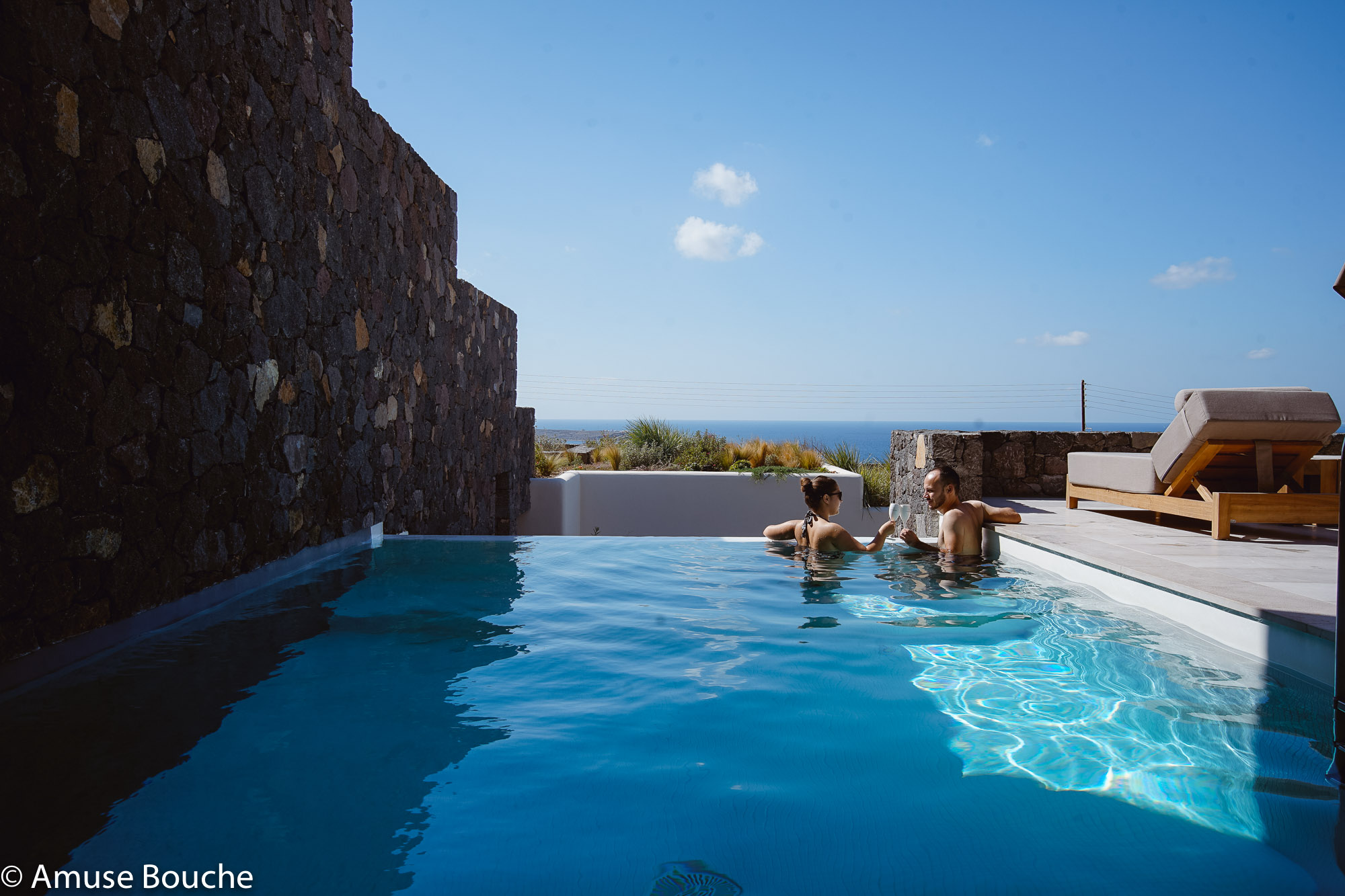 Santorini Canaves Oia Epitome Private Pool Villa Amuse Bouche