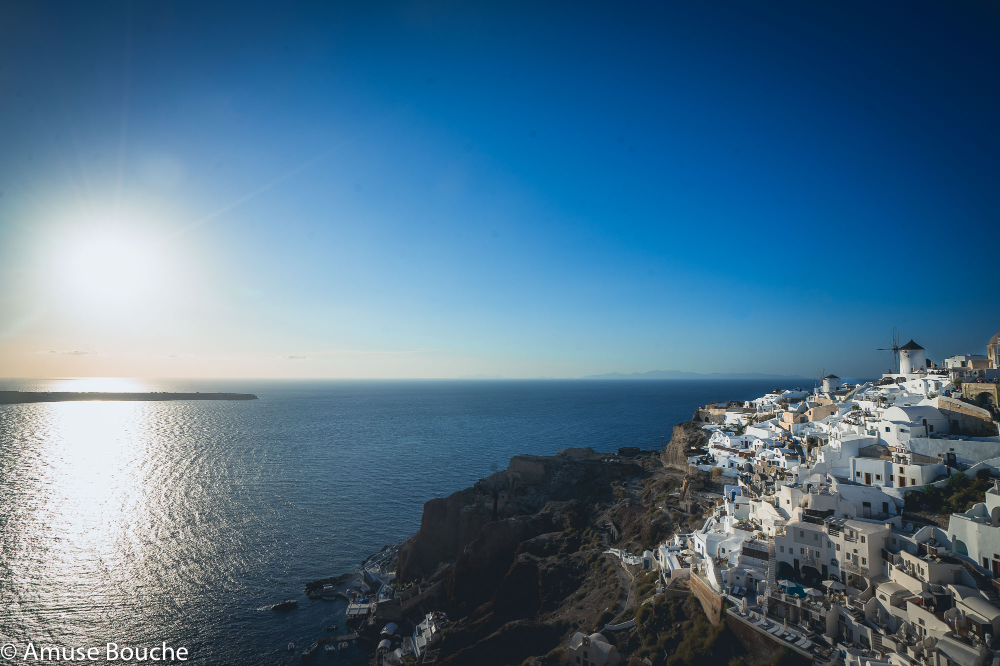 Santorini Imagine Caldera Mare