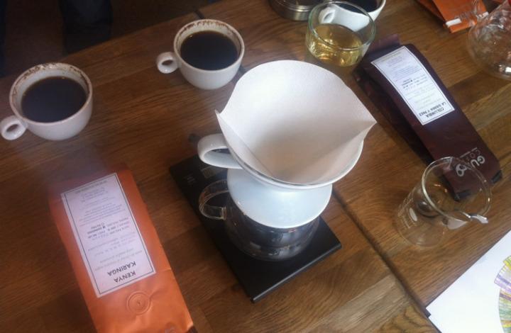 Degustare de cafea la Guido Coffee din Bucuresti