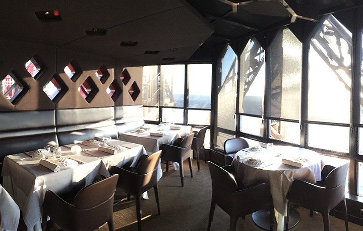 Restaurant Jules Verne by Alain Ducasse in Turnul Eiffel