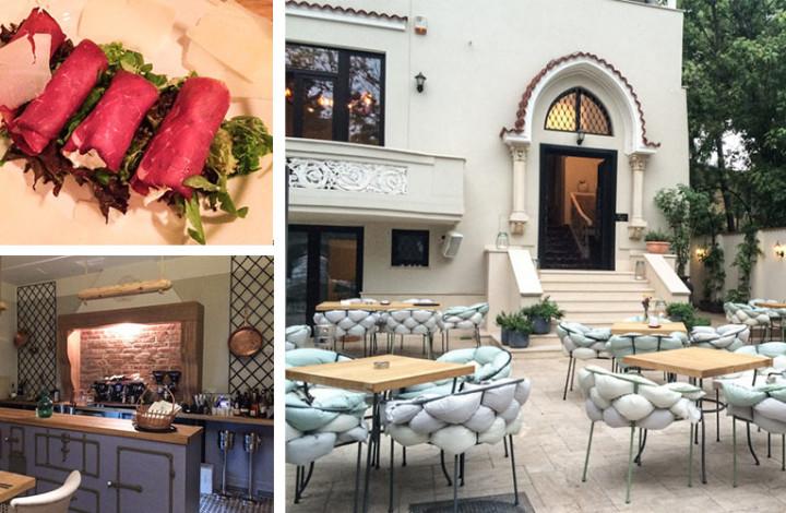Restaurant fine dining Fior di Poesia by Patrizia Paglieri