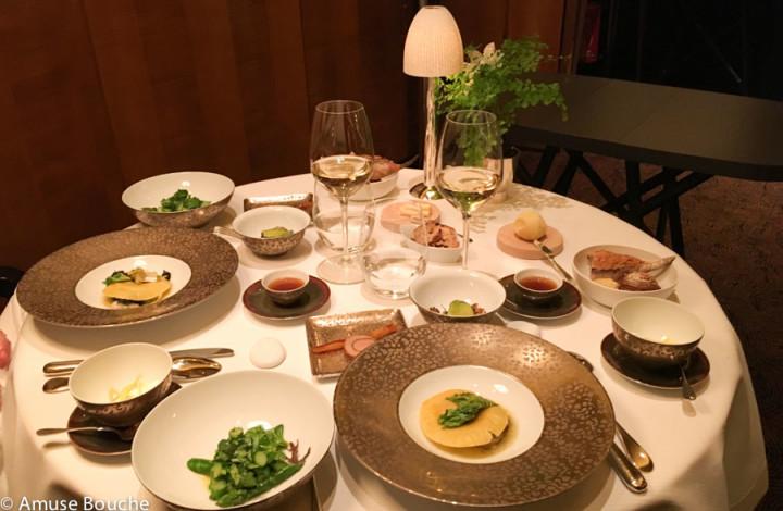Cina la restaurant Pierre Gagnaire Paris 3 stele Michelin