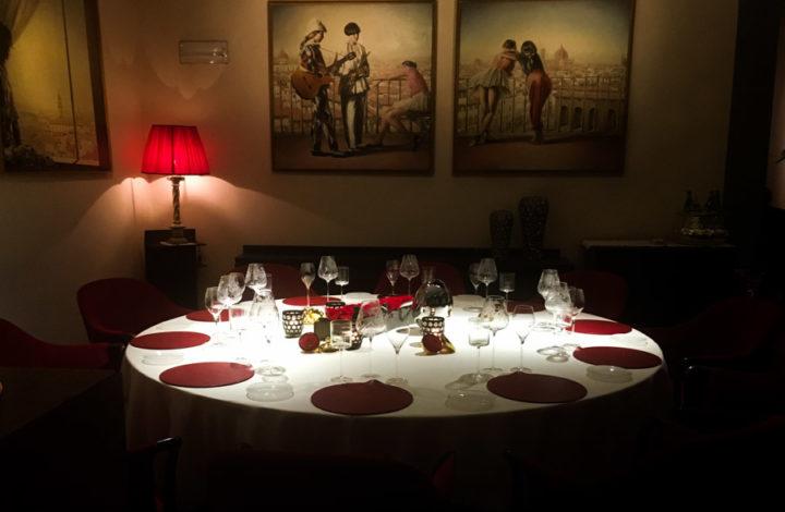 restaurant Enoteca Pinchiorri Florenta 3 stele Michelin