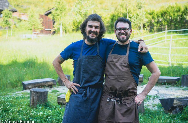 Eveniment gastronomic Ravens Nest amusebouche.ro Chefs Alex Petricean Roland Suciu