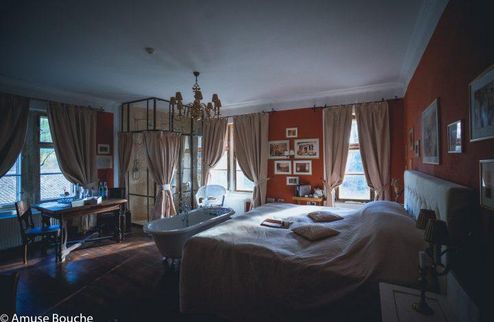 Zabola interiors Red Room