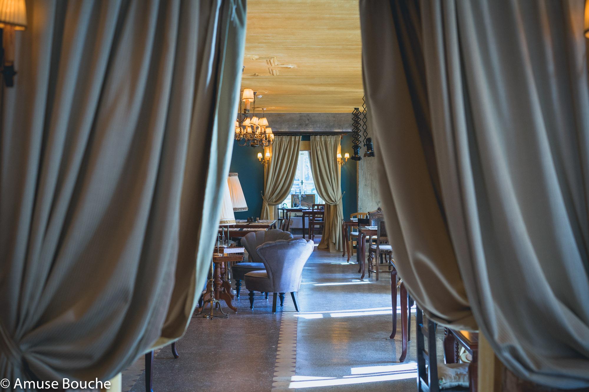 Zabola interiors Amuse Bouche Event